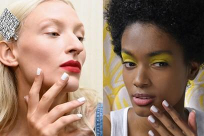 Unghie con smalto bianco: le manicure più glam per la Primavera-Estate