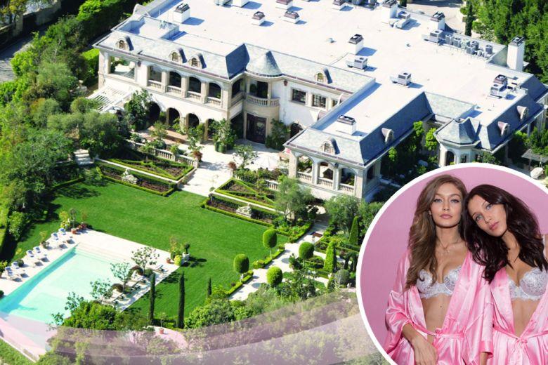 La casa del padre di Gigi e Bella Hadid a Bel Air