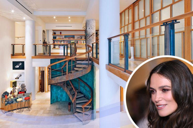 Keira Knightley vende la sua casa di New York