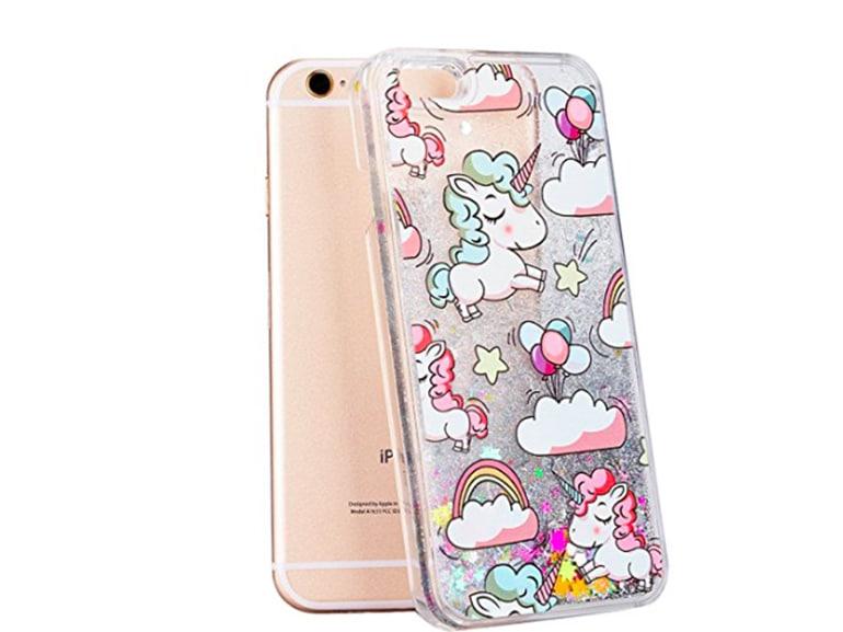 cover iphone unicorno