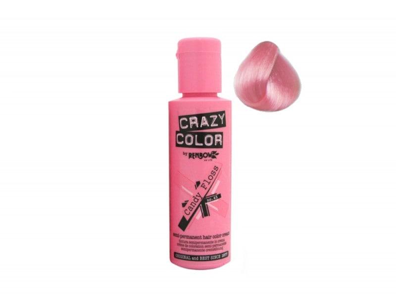 capelli rosa pastello crazy color candy-floss