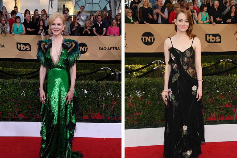 SAG Awards 2017: i look delle star sul red carpet