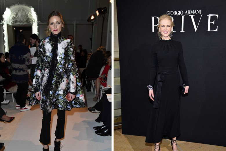 Le Best dressed della settimana: da  Carolina Crescentini a Olivia Palermo
