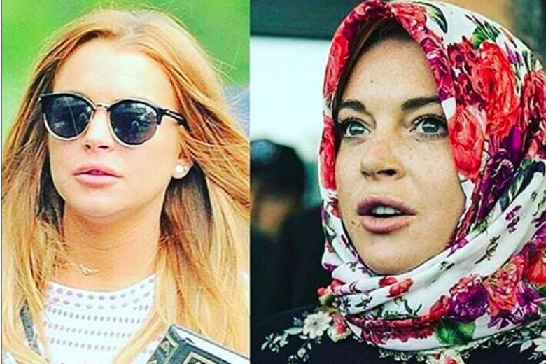 Lindsay Lohan si è convertita all'Islam?