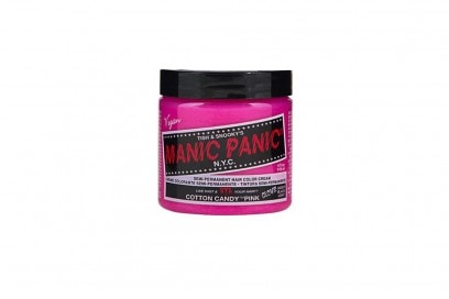 capelli rosa pastello manic panic cotton candy pink