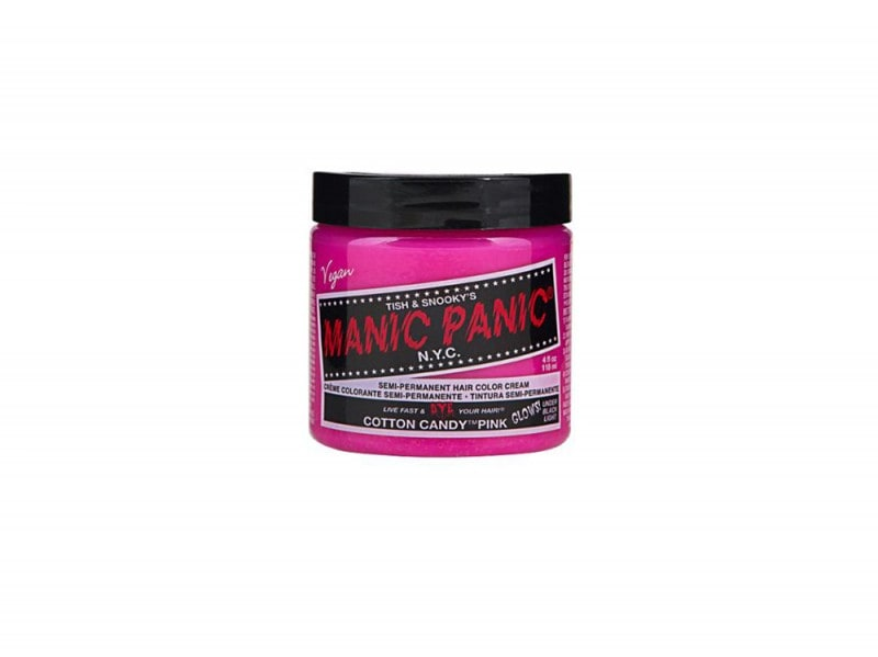 capelli rosa pastello manic panic cotton candy pink