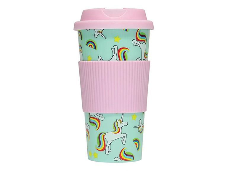 mug take away unicorni