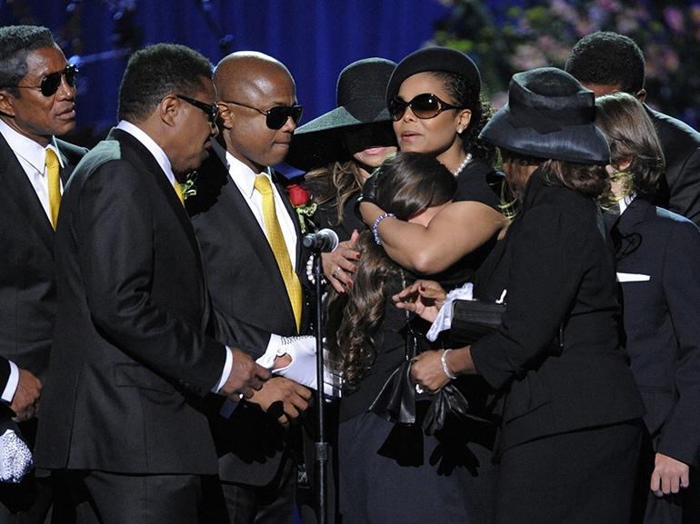 paris jackson funerale michael