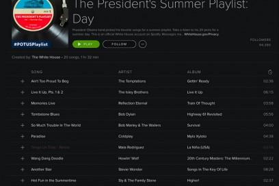 playlist spotify obama