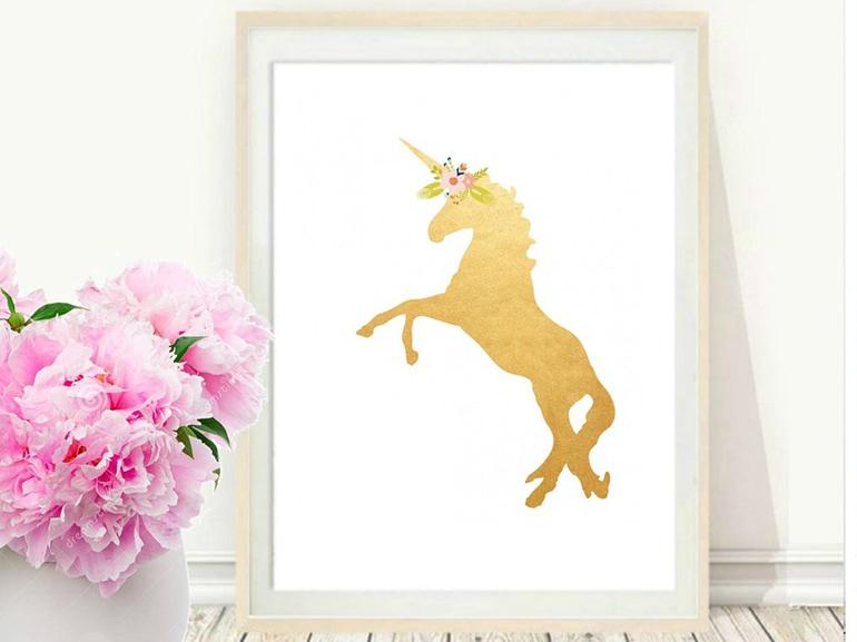 quadro unicorno