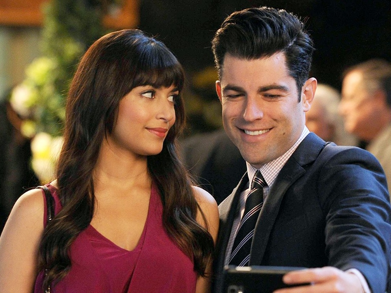 schmidt cece new girl selfie