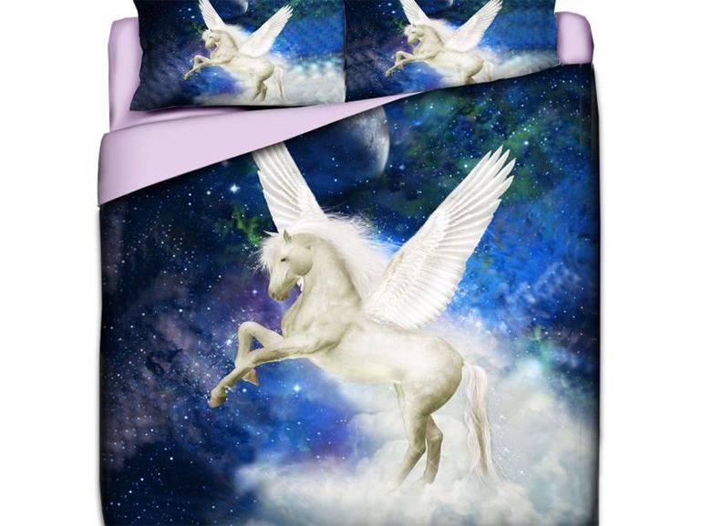 set letto unicorno