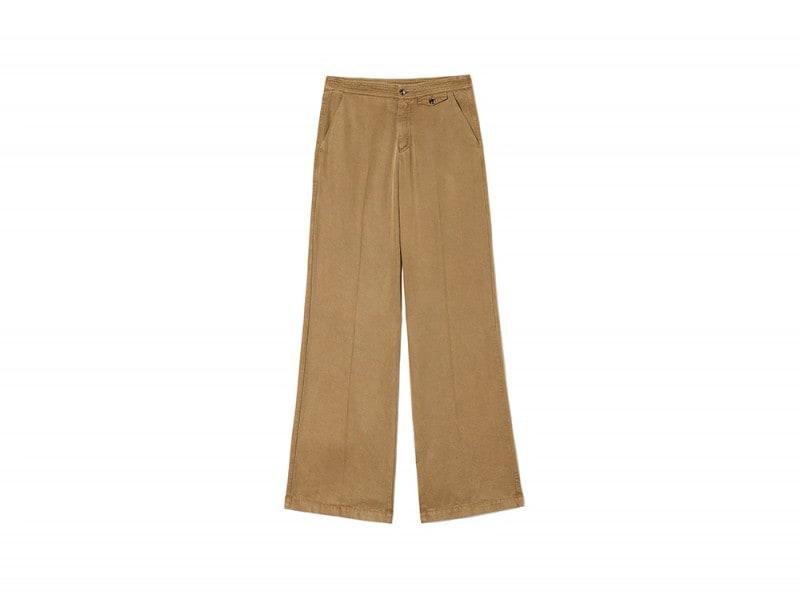 sisley pantaloni palazzo