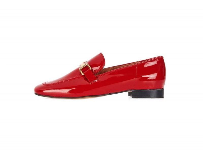 topshop-mocassino-vernice-rosso