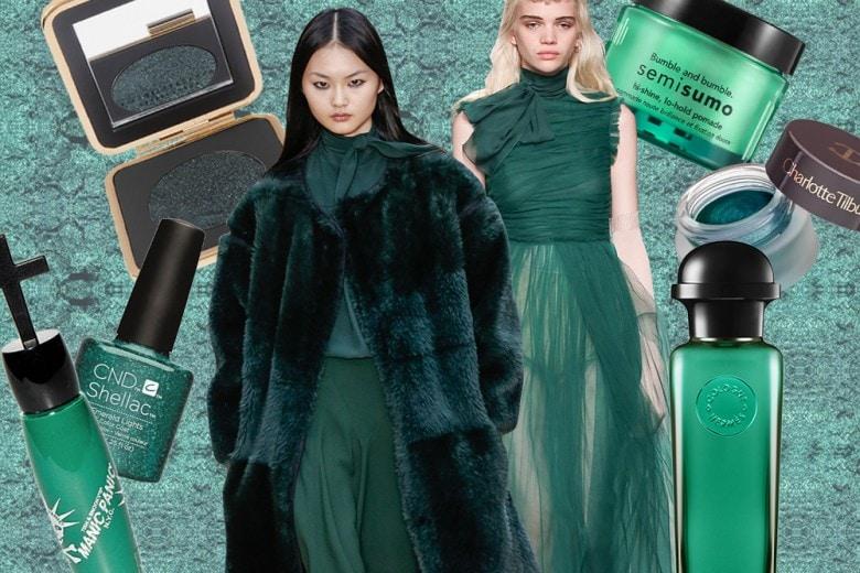 Trucco verde smeraldo: i prodotti di bellezza must have da provare adesso