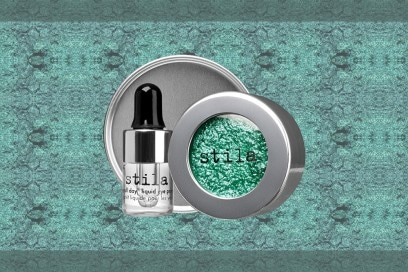 trucco verde smeraldo ombretto stila