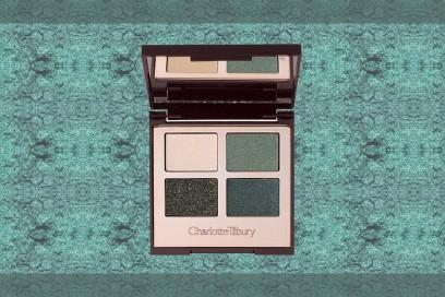 trucco verde smeraldo palette ombretti charlotte tillbury