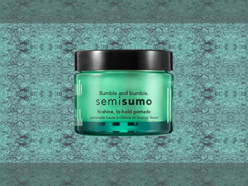 trucco verde smeraldo pasta per capelli bumble and bumble