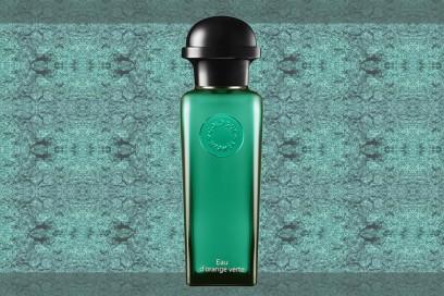trucco verde smeraldo profumo hermes