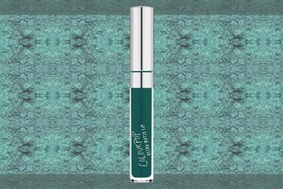 trucco verde smeraldo rossetto liquido opaco colour pop