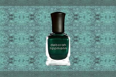 trucco verde smeraldo smalto deborah lipmann