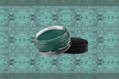 trucco verde smerlado ombretto inglot