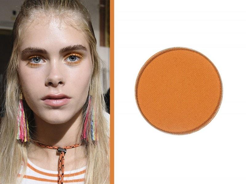 ombretto arancione make up geek
