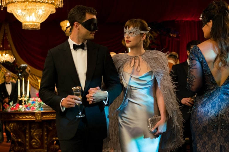 50 sfumature di nero: i look di Jamie Dornan e Dakota Johnson