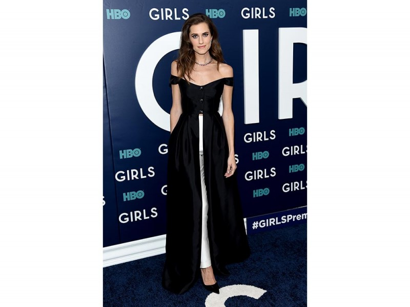 Allison-Williams in Gabriela Hearst getty