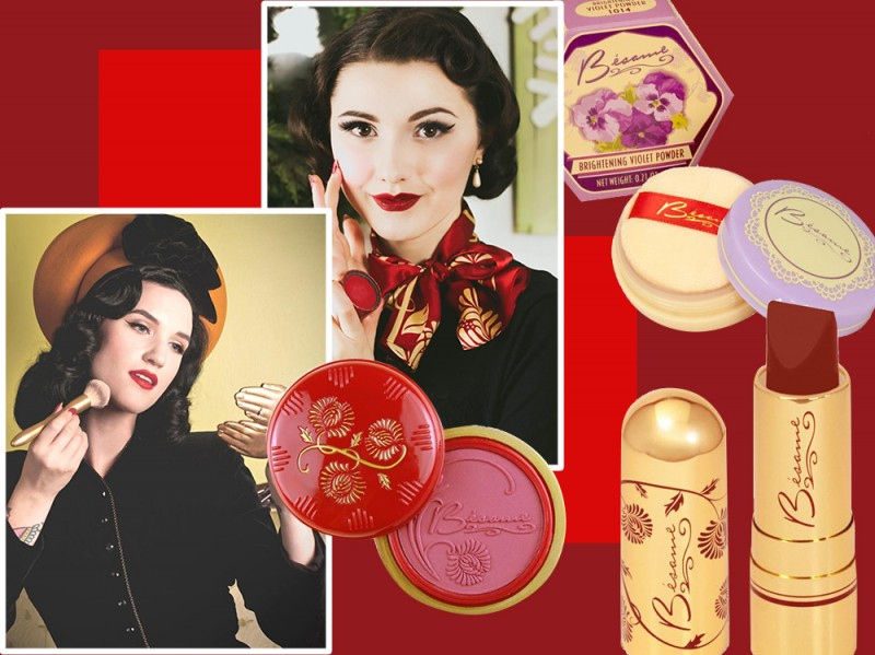 Besame cosmetics make up brand stranieri da tenere d'occhio