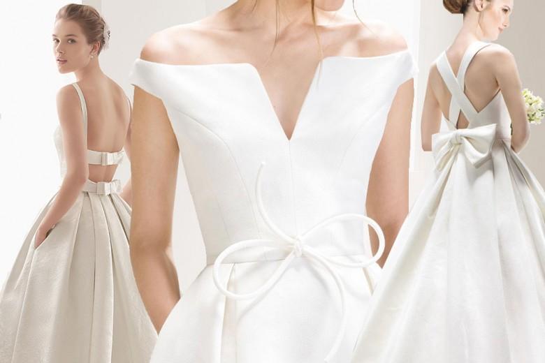 Abiti da sposa: vanno di moda i fiocchi