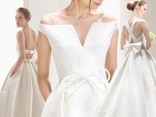 Abiti da sposa  vanno di moda i fiocchi - Grazia.it bf4db5b7705