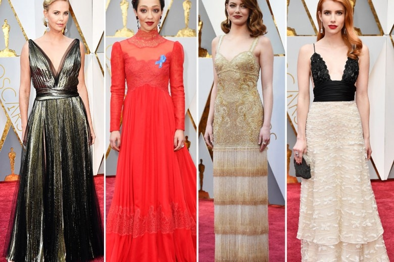 Oscar 2017: tutti gli abiti delle star