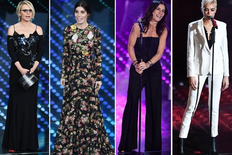 Sanremo 2017: tutti i look sul palco dell'Ariston