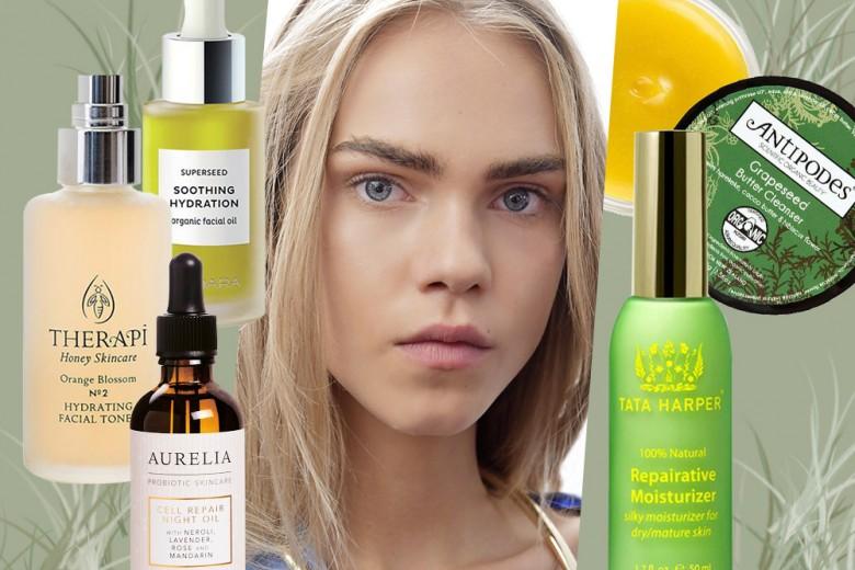 Pelle secca viso: i migliori cosmetici bio per trattarla