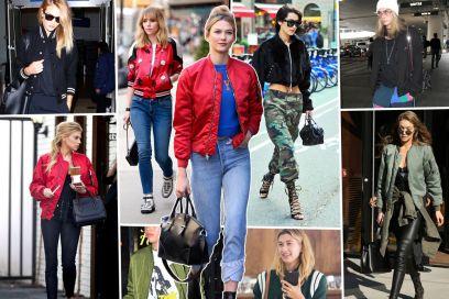 Bomber jacket: i modelli più amati dalle celeb