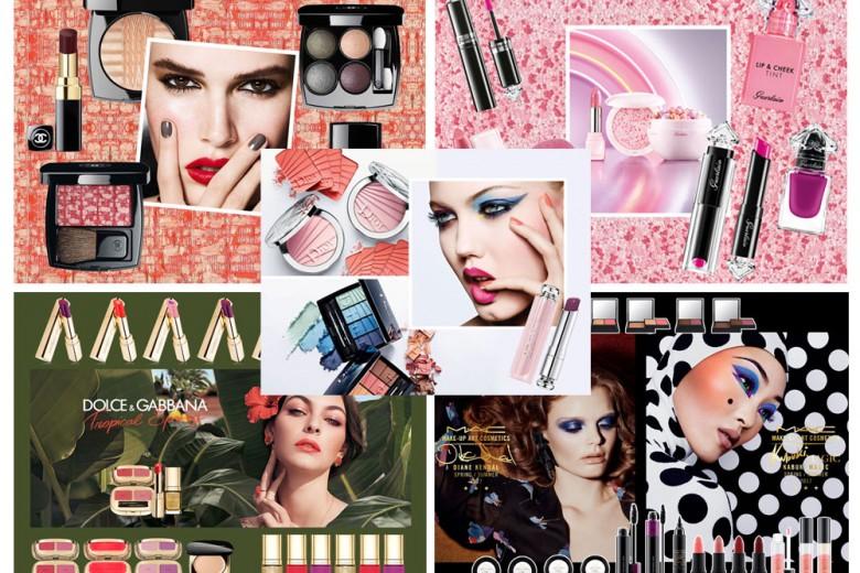 Le collezioni make up Primavera Estate 2017: romanticismo e colori pastello