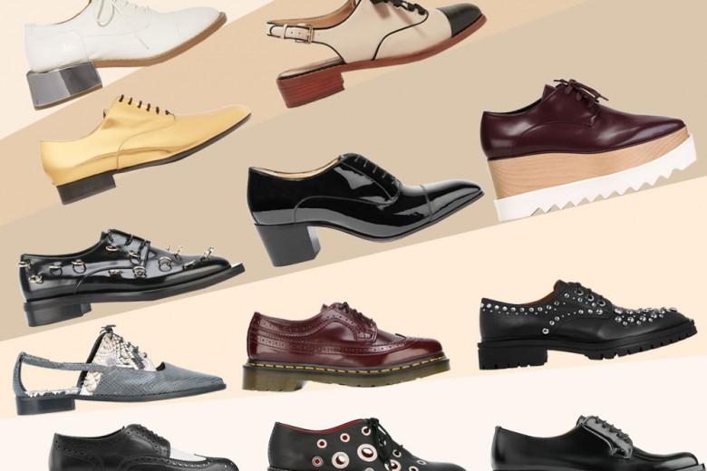 Le scarpe francesine per la primavera