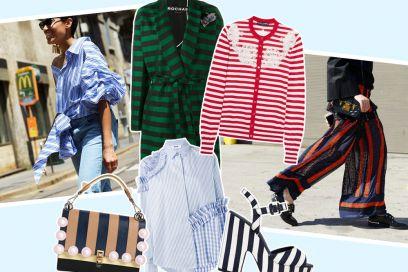 """Tendenza """"stripes"""": i pezzi a righe per la primavera"""