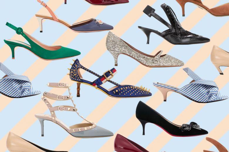 Kitten heels: le scarpe bon ton dal tacco midi per la primavera