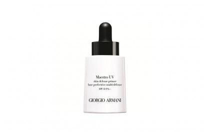 trucco ibrido make up skincare giorgio armani maestro uv