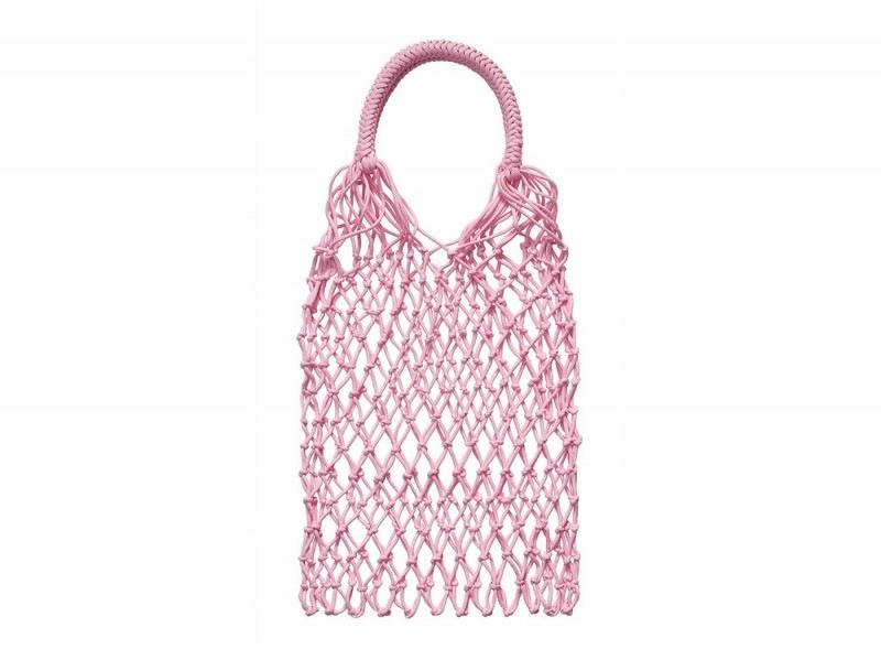 H&M-conscious-2017-borsa-rete-rosa