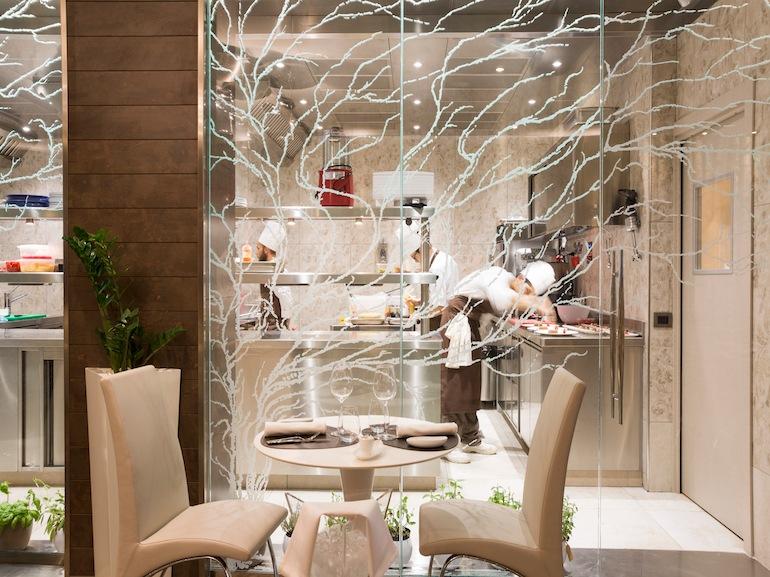 I ristoranti pi romantici di roma for Arredamento ristorante italia