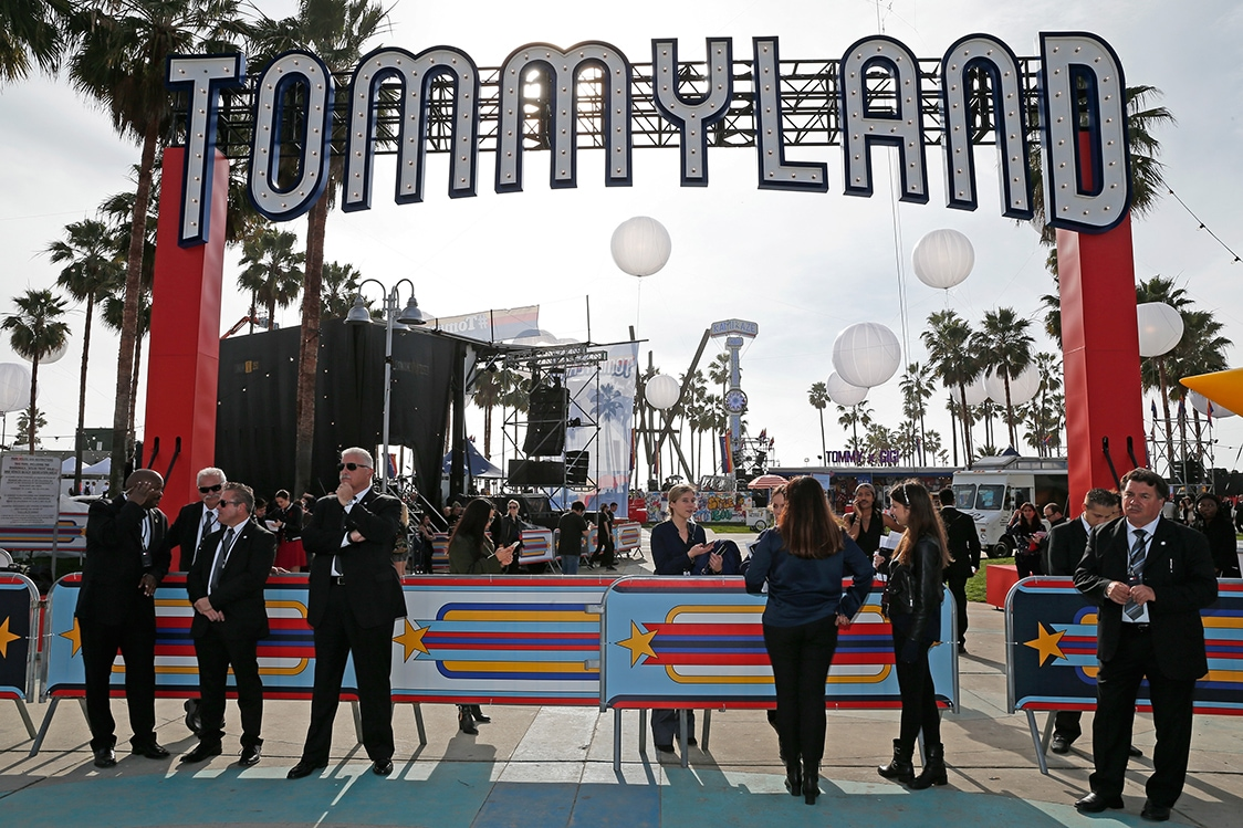 TommyLand Tommy Hilfiger Spring 2017 Fashion Show – Front Row & Atmosphere