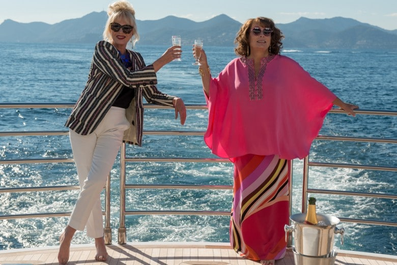 Lo stile Absolutely Fabulous di Jessica Saunders e Joanna Lumley