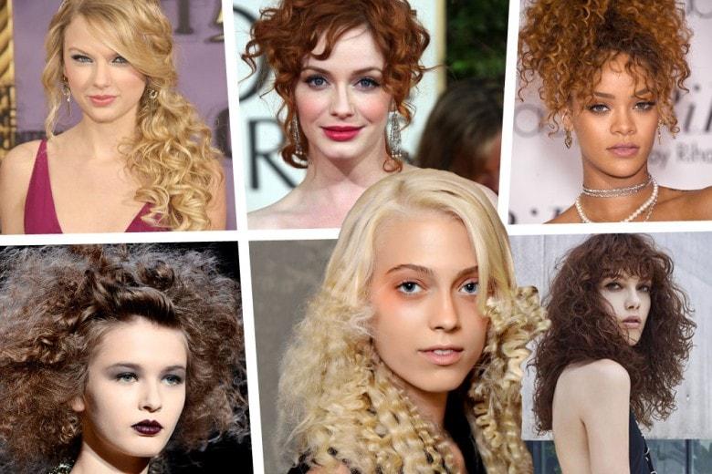 Acconciature capelli ricci: dai semi raccolti alle medie lunghezze