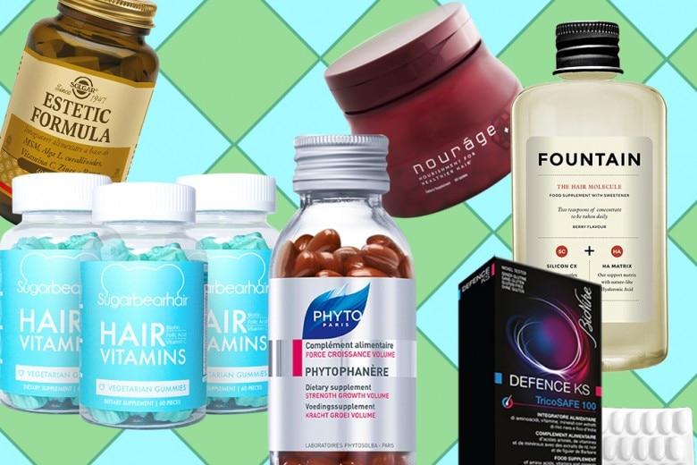 Vitamine per capelli: gli integratori che fanno bene