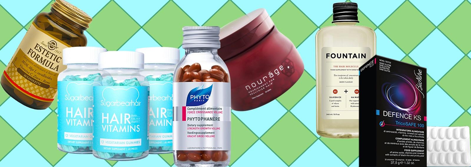 vitamine che fanno bene ai capelli i migliori integratori