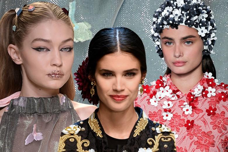 Accessori capelli: i più belli della Primavera-Estate 2017