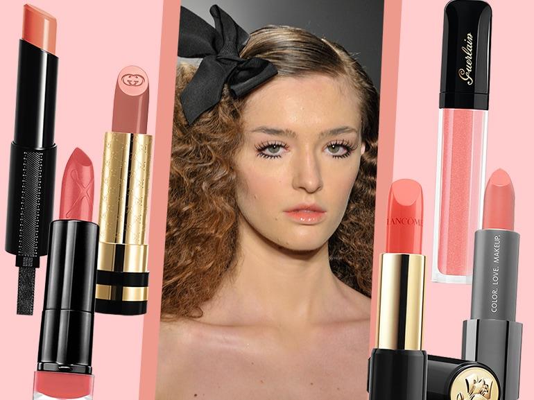 cover-Labbra color pesca la tendenza e i prodotti del momento-mobile